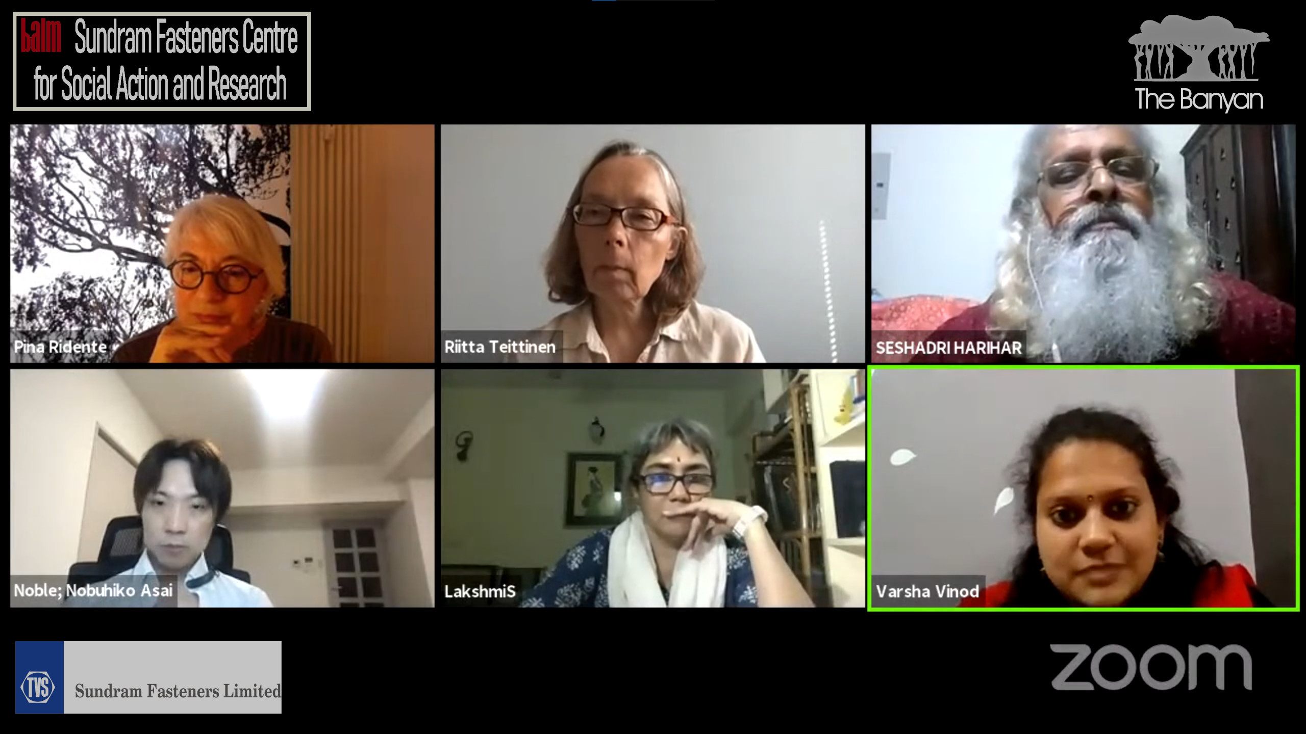 2nd August 2021 – Webinar Open Dialogue: Approaches and application