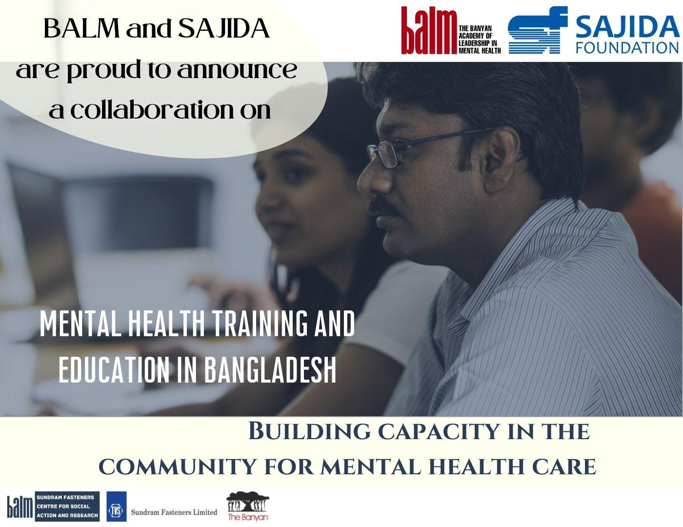 A New Partnership with SAJIDA Foundation
